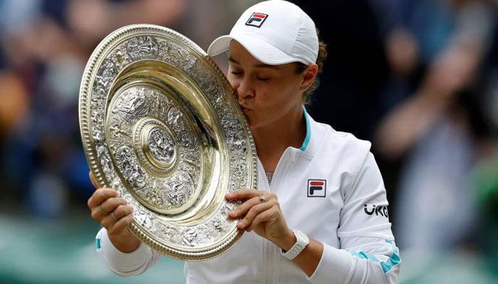 ومبلڈن ٹینس کا ویمنز ٹائٹل آسٹریلیا کی ایشلے بارٹی نے جیت لیا