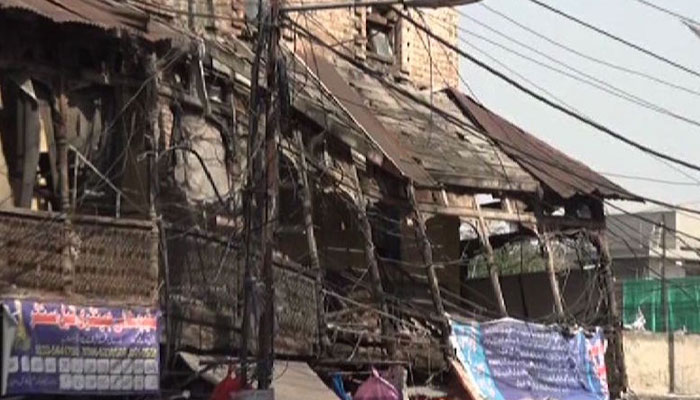 پنڈی کی 83 مخدوش عمارتوں کے مکینوں کو نوٹس