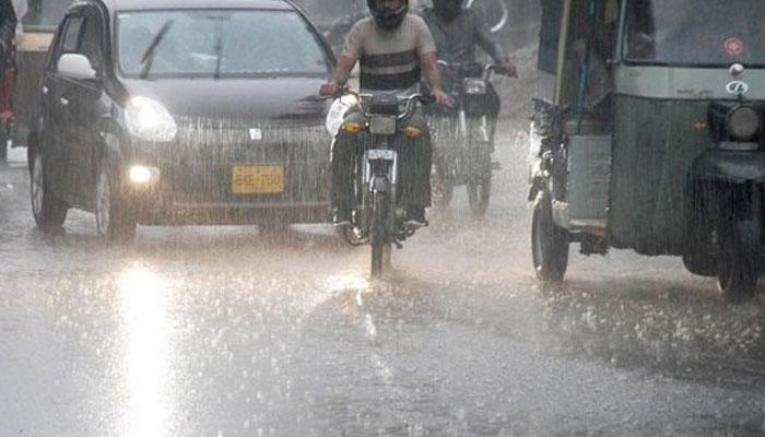 کراچی میں سب سے زیادہ بارش کہاں ہوئی؟