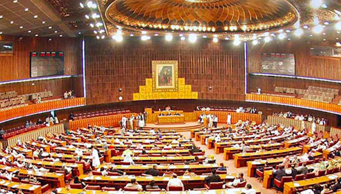 Echoes of Azad Kashmir elections in the National Assembly