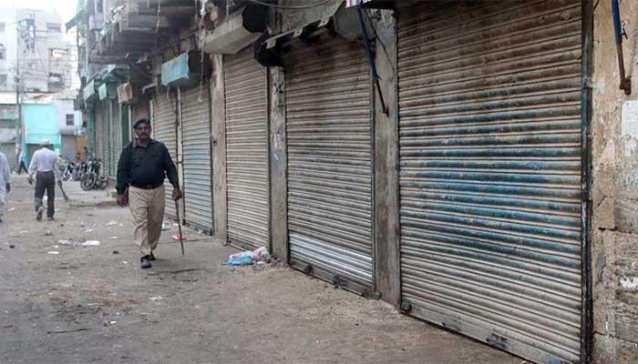 کراچی وسطی کے چار ٹاؤن کی مختلف گلیوں میں مائیکرو اسمارٹ لاک ڈاؤن نافذ
