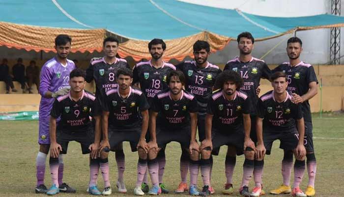 انڈر 23 قومی  فٹبال: کے پی اور بلوچستان کی ٹیمیں فائنل میں پہنچ گئیں