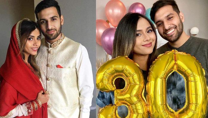 زید علی کا اہلیہ کی سالگرہ پر پیار بھرا پیغام