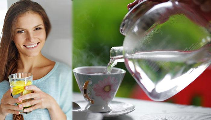 نہار منہ گرم پانی پینے کے جسم پر حیرت انگیز اثرات