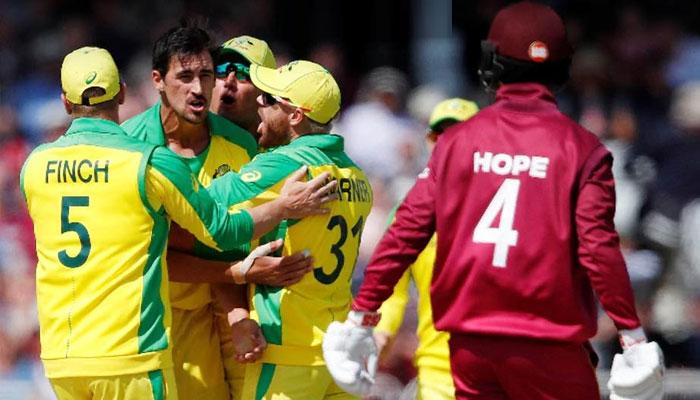 چوتھا T20 :آسٹریلیا نے ویسٹ انڈیز کو 4 رنز سے ہرا دیا