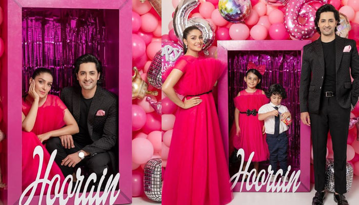 بیٹی کی سالگرہ پر عائزہ خان باربی ڈول بن گئیں
