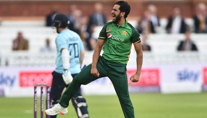 پاکستا ن کو T20سیریز میں بڑا دھچکا، حسن علی پہلے میچ سے آؤٹ