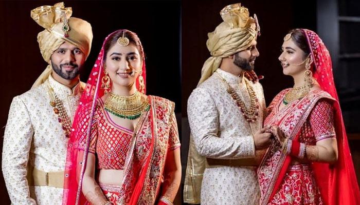 بگ باس 14 کے رنر اپ راہول ویدیا نے شادی کرلی