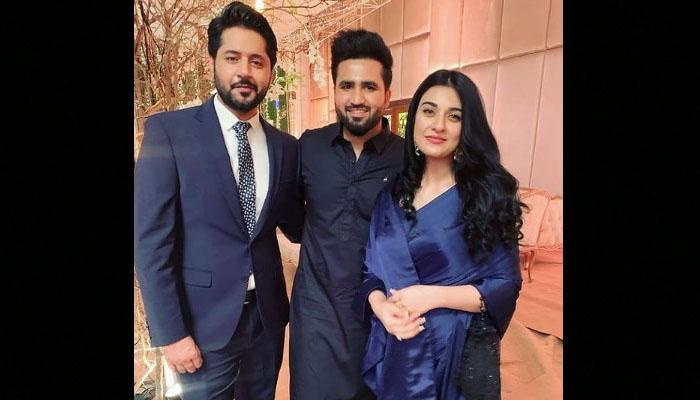 Imran Ashraf congratulates Sarah and Falak on their wedding anniversary