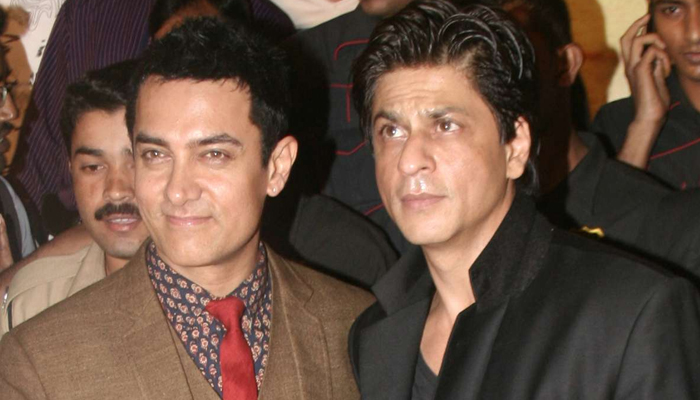 فلم 'ڈر' کیلئے عامر خان نے خود شاہ رخ کا نام کیا