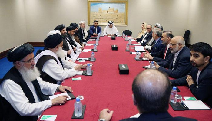 Talks between Afghan delegation and Taliban in Qatar, ceasefire talks