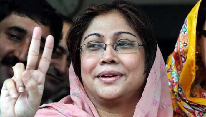 Who says PP is over?  Bernala is our fort, Faryal Talpur