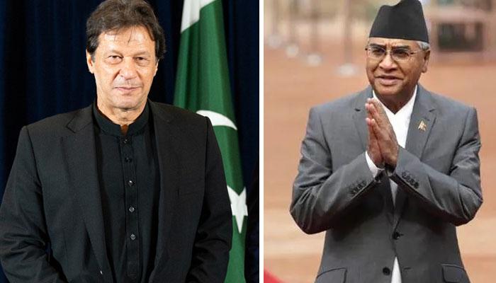Congratulations to Imran Khan's Nepali counterpart