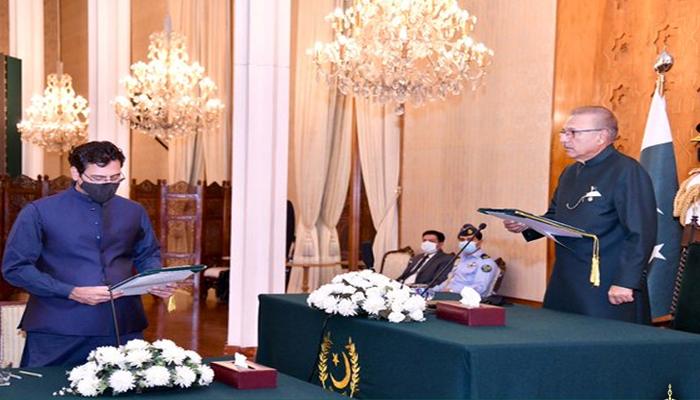 Monis Elahi has been sworn in as Federal Minister