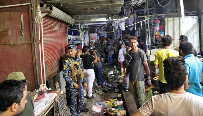 عراق میں دستی بم دھماکا، 8 افراد جاں بحق