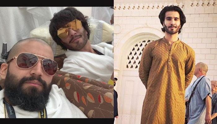 فیروز خان نے اپنے سفرِ حج کی یاد تازہ کردی