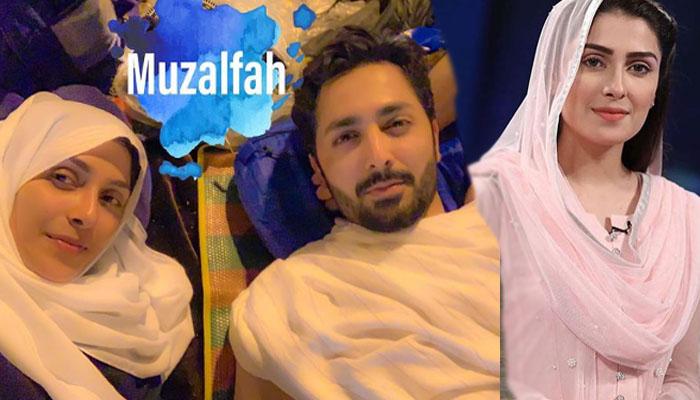 عائزہ خان کی زندگی کا سب سےخوبصورت سفر