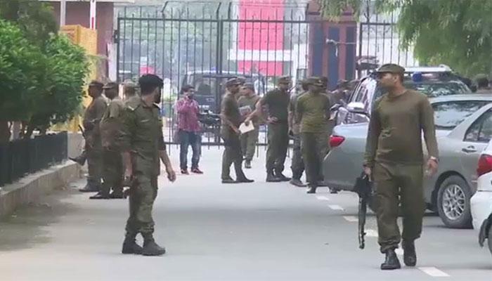 لاہور: عید سے 1 روز قبل سیکیورٹی کے انتظامات سخت