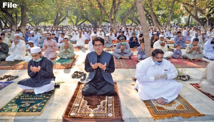 باجوڑ اور مہمند کے کچھ علاقوں میں آج عید