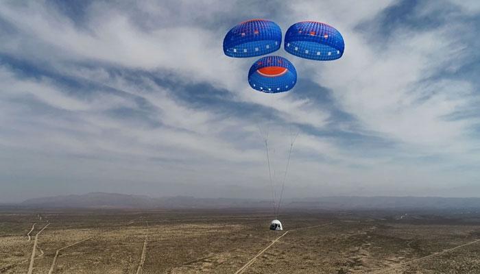 Jeff Bezos also traveled through space