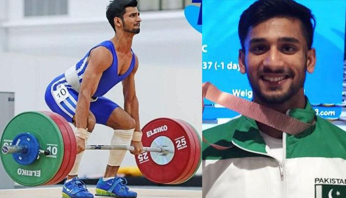 ویٹ لفٹر طلحہ طالب کی اولمپکس گیمز میں شرکت کے لیے آج روانگی