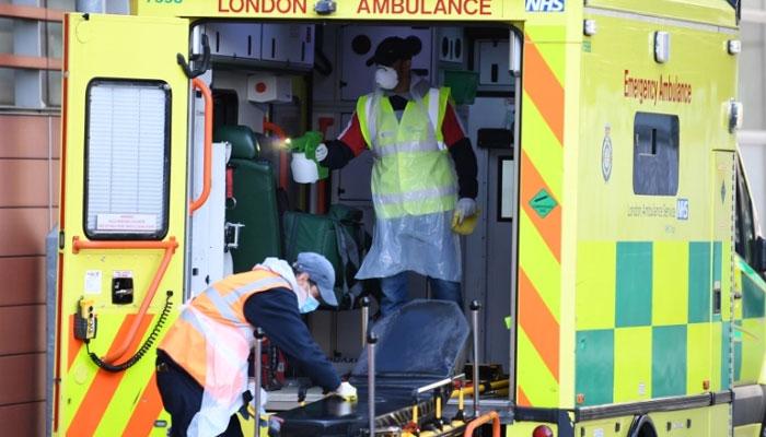 برطانیہ میں کورونا سے اموات میں اچانک غیرمعمولی اضافہ