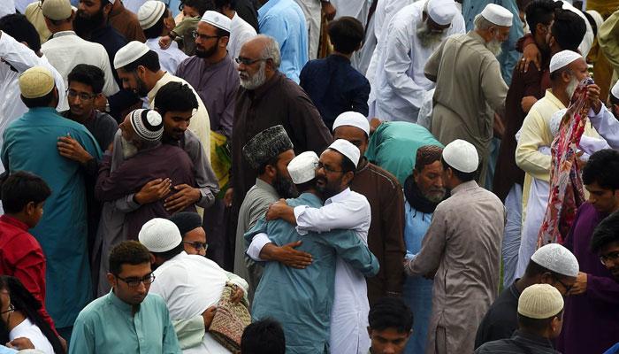 پاکستان میں عیدالاضحیٰ منائی جارہی ہے