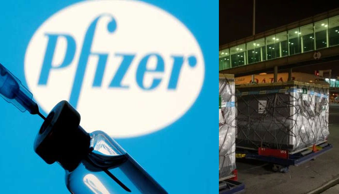 New consignment of Pfizer vaccine arrives in Pakistan