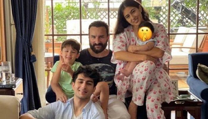 سیف علی خان کی اپنے چاروں بچوں کیساتھ پہلی تصویر