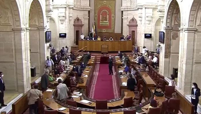 چوہے نے اسپین کی پارلیمنٹ کی کارروائی رکوادی، ویڈیو وائرل