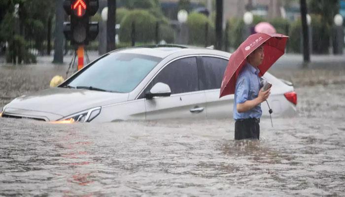 چین : بارشوں کا ایک ہزار سالہ ریکارڈ ٹوٹ گیا