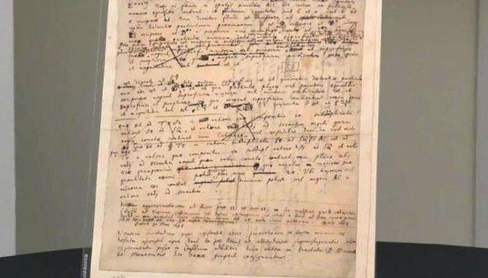 نیوٹن کا 300 سال پرانا بوسیدہ کاغذ نیلام