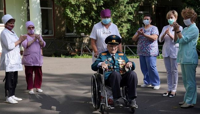 دوسری جنگ عظیم میں شریک روسی اہلکار نے کوویڈ کو شکست دیدی