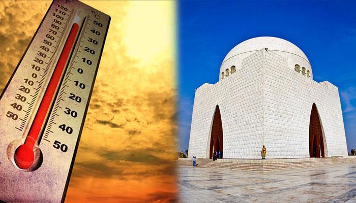 کراچی: آج بھی موسم گرم رہنے کی پیش گوئی