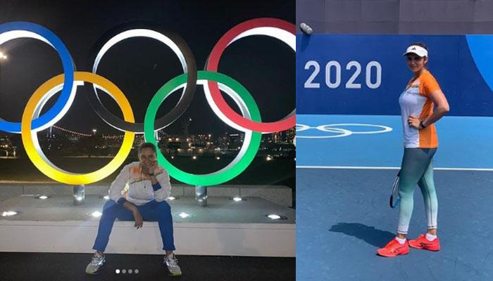 ثانیہ مرزا نے بھی ٹوکیو اولمپکس کی تصویریں شیئر کردیں