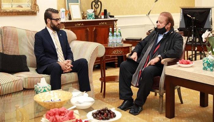 لندن: نواز شریف سے افغان مشیر اور وزیر کی ملاقات