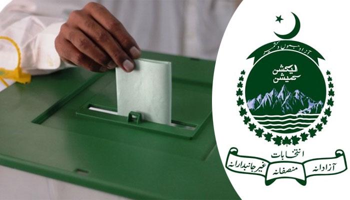 راولپنڈی میں آزاد کشمیرکی 3 نشستوں پر کل انتخاب ہو گا