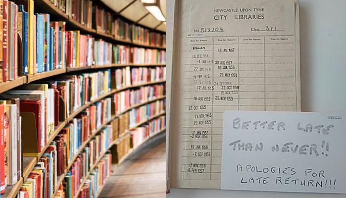 لائبریری سے لی گئی کتاب 63 سال بعد واپس کردی گئی