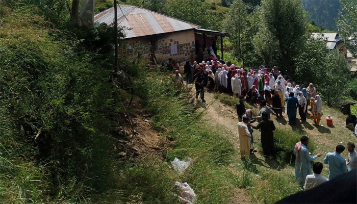 مظفر آباد: میڈیا کو کوریج سے روک دیا گیا