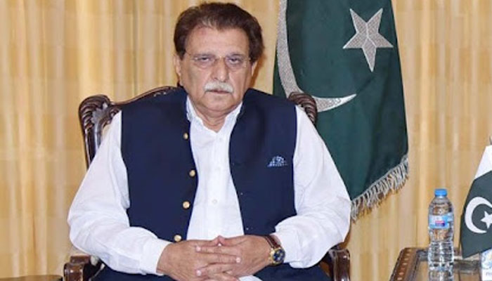 کشمیر میں تمام عملہ پنجاب حکومت کا ہے، راجا فاروق