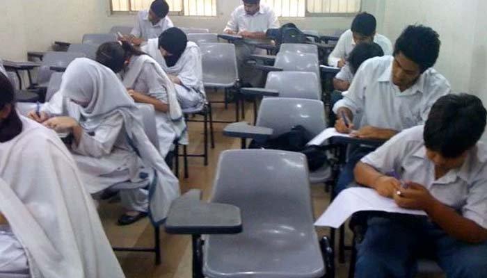 کراچی میں آج سے بارہویں جماعت کے امتحانات کا آغاز
