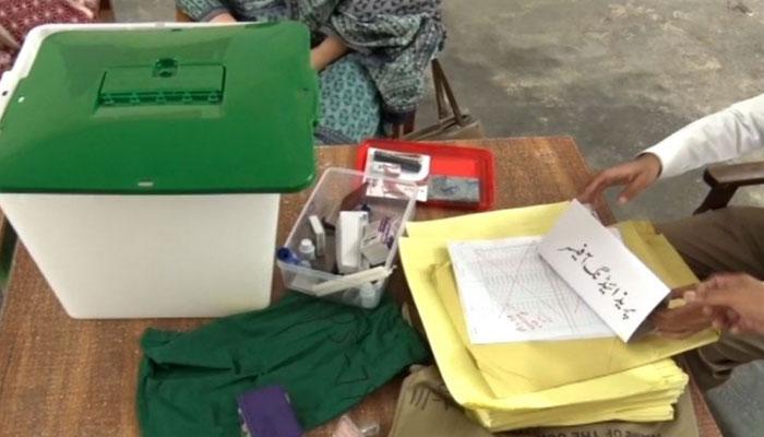 مظفرآباد، ایل اے 16 کے نتائج روک دیئے گئے