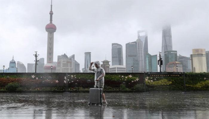 طوفان ان۔فا دوسری مرتبہ چین کے مشرقی ساحل سے ٹکرا گیا