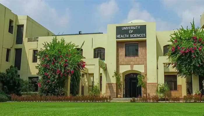 یونیورسٹی آف ہیلتھ سائنسز: طلبہ کیلئے 4 کروڑ سے زائد کی اسکالر شپس منظور