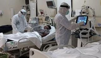 کراچی، اسپتالوں میں کورونا کے لئے مختص وارڈ کی صورتحال