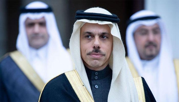 سعودی وزیرِ خارجہ فیصل بن فرحان پاکستان پہنچ گئے