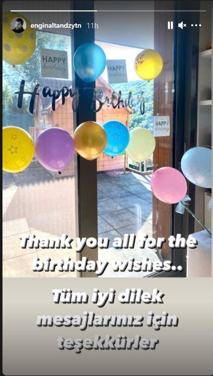 انگین آلتان سالگرہ کے موقع پر محبت بھرے پیغامات پر مشکور