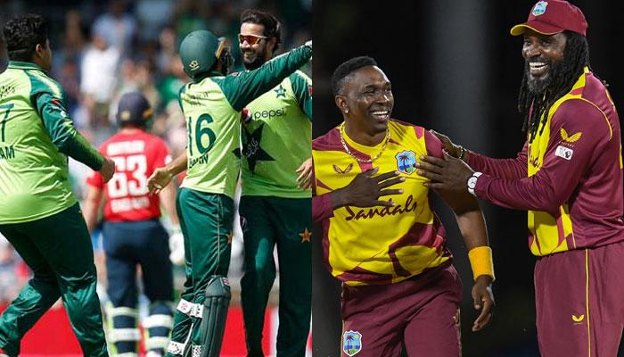 پاکستان اور ویسٹ انڈیز کے درمیان پہلا ٹی ٹوئنٹی کل کھیلا جائےگا