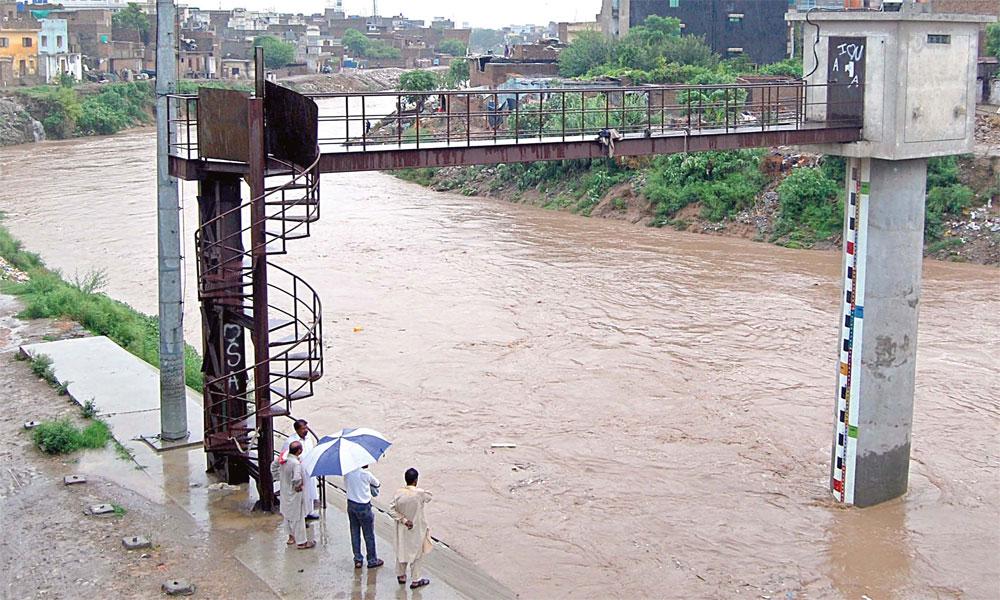 نالہ لئی میں پانی کی سطح بلند، فوج امدادی کاموں میں مصروف ہے: ISPR