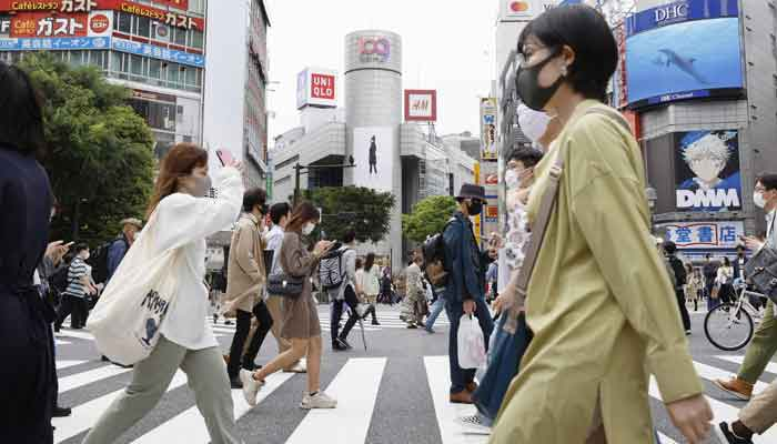 ٹوکیو میں مسلسل دوسرے روز کورونا کے ریکارڈ 3 ہزار کیسز